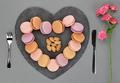 Macarons, heart  - PhotoDune Item for Sale
