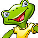 Cool Frog Mascot - GraphicRiver Item for Sale