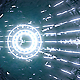 VJ Blue Neon Tunnel - VideoHive Item for Sale