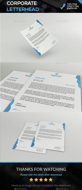 Corporate Letterhead - Corporate Flyers