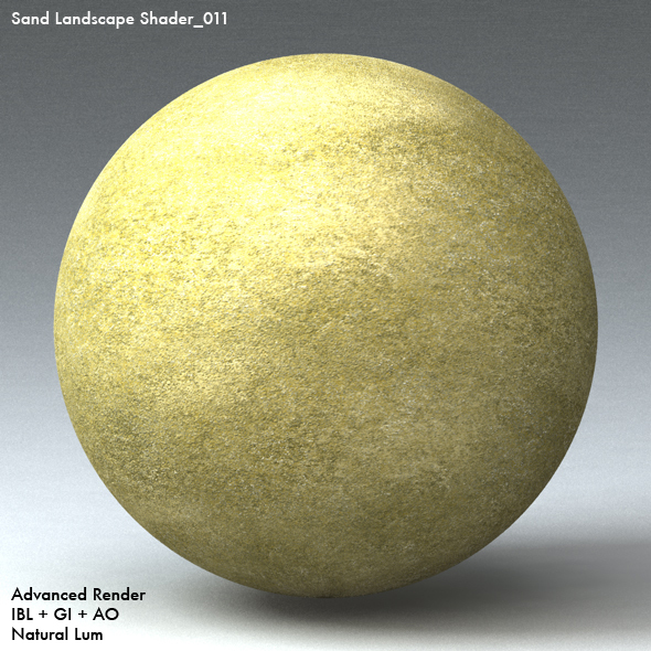 Sand Landscape Shader_011 - 3DOcean Item for Sale