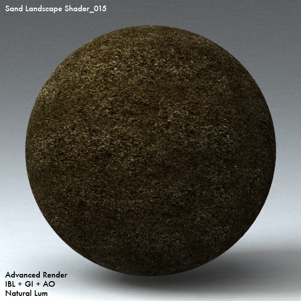 Sand Landscape Shader_015 - 3DOcean Item for Sale