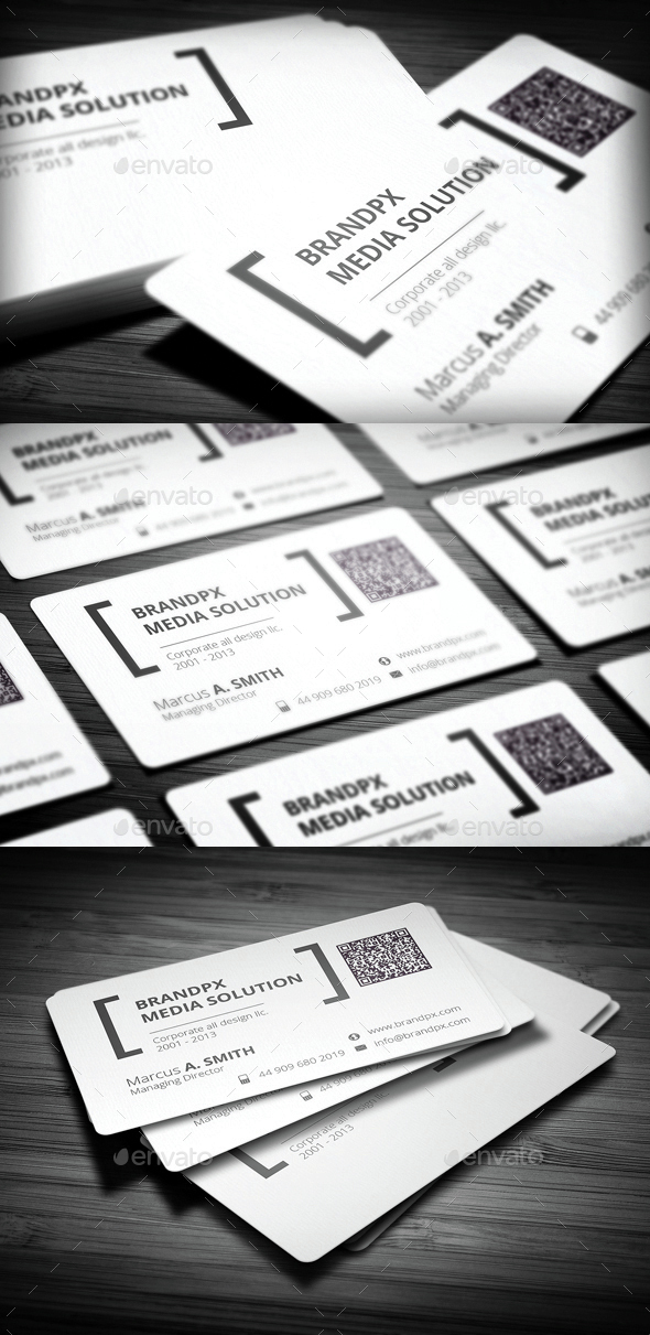 Creative White Business Card - Creative Business Cards