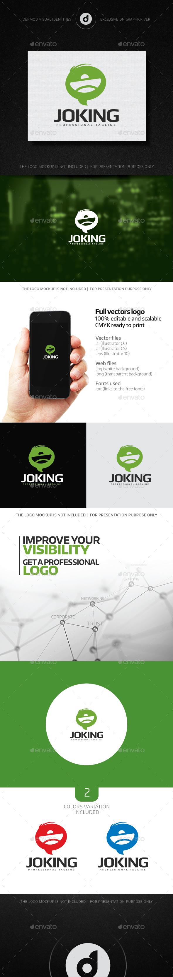 Joking Logo - Symbols Logo Templates