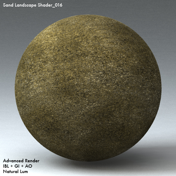 Sand Landscape Shader_016 - 3DOcean Item for Sale