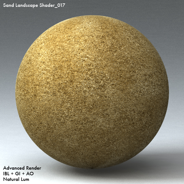 Sand Landscape Shader_017 - 3DOcean Item for Sale