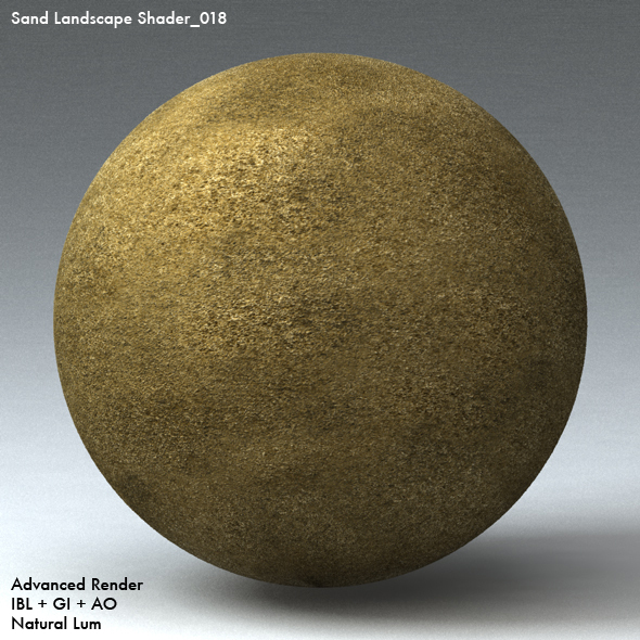 Sand Landscape Shader_018 - 3DOcean Item for Sale