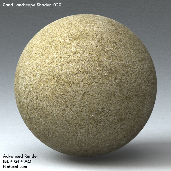 Sand Landscape Shader_020 - 3DOcean Item for Sale