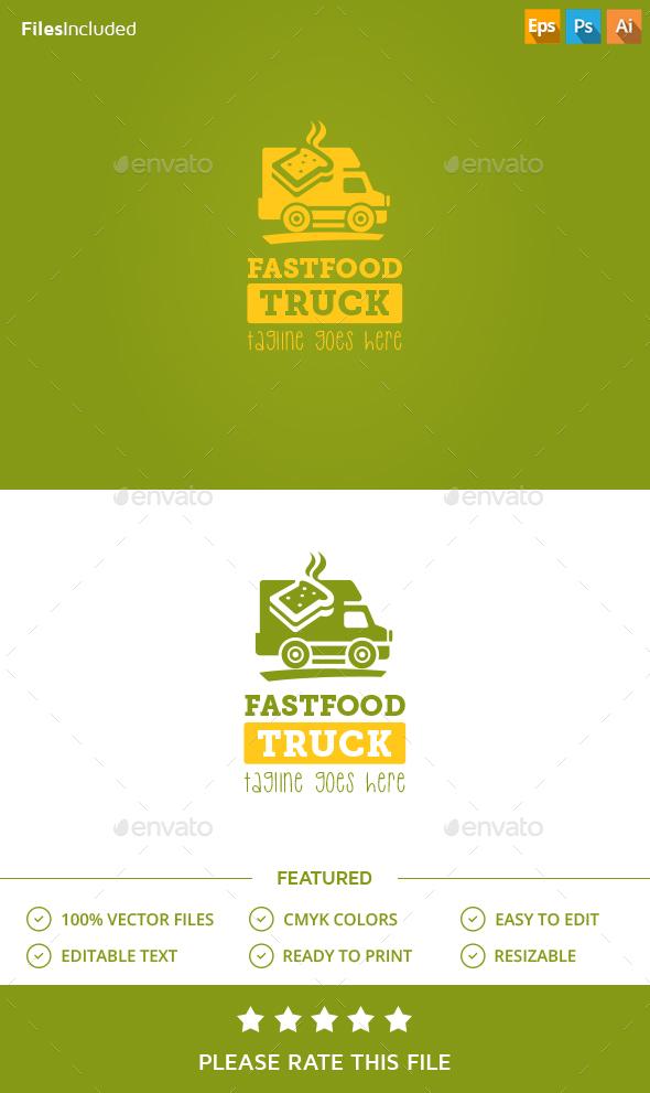 Food Truck Logo - Food Logo Templates