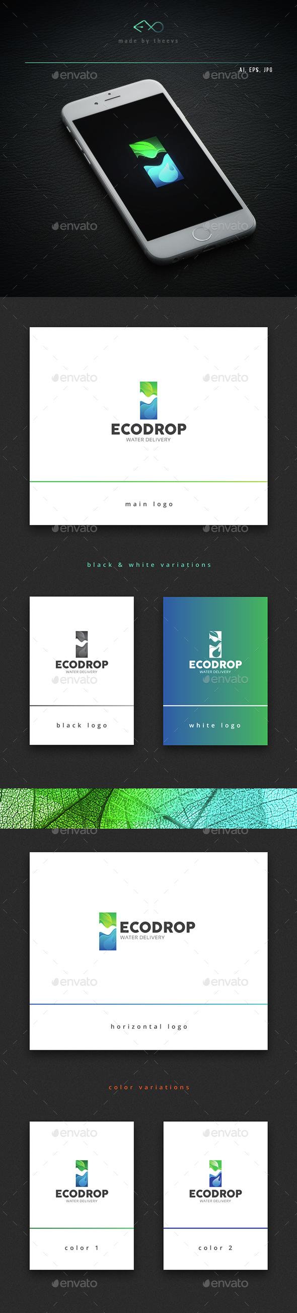 Ecodrop - Vector Abstract