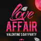 Love Affair Party Flyer Template - GraphicRiver Item for Sale