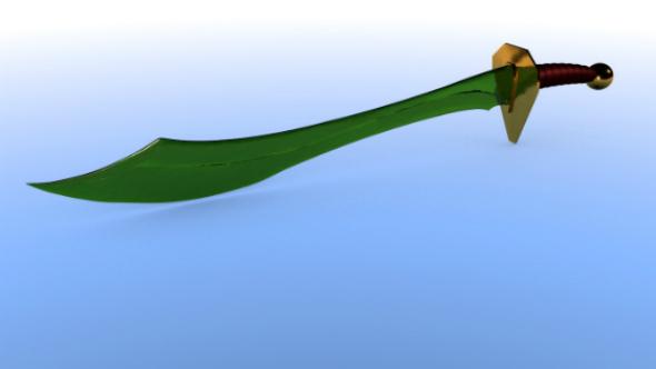 Elven sword - 3DOcean Item for Sale