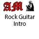 Rock Guitar Intro Logo