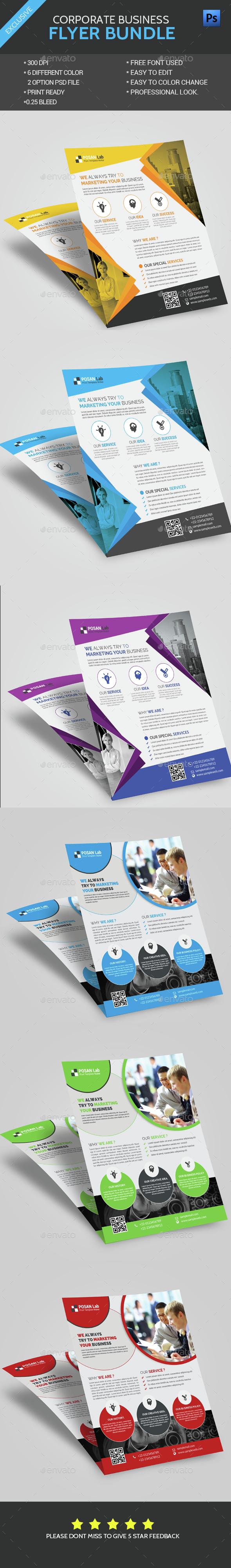 Flyer Bundle - Flyers Print Templates