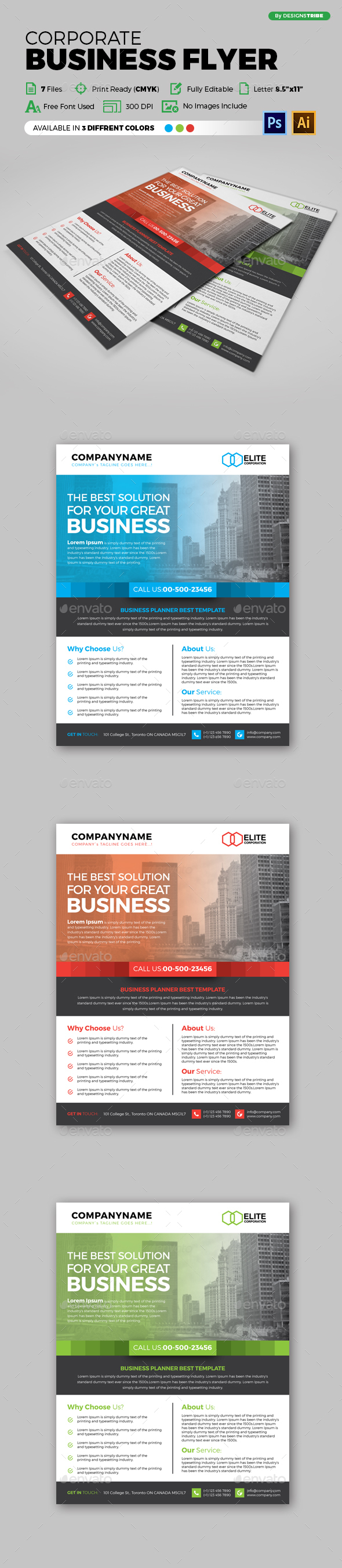 Flyer – Multipurpose 120 - Corporate Flyers