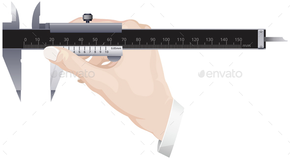Precision Measurement Tool Vernier Calipers  - Man-made Objects Objects