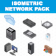 Isometric Network Pack - GraphicRiver Item for Sale