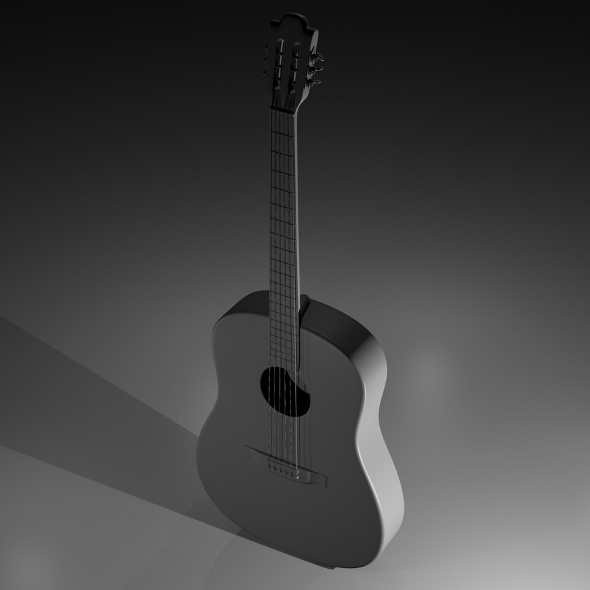 Acoustic Guitar - 3DOcean Item for Sale