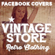Facebook Timeline Cover - Vintage Store - GraphicRiver Item for Sale