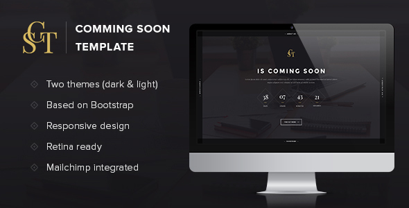 CST – Coming Soon Template
