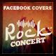 Facebook Timeline Cover - Rock Concert - GraphicRiver Item for Sale