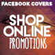 Facebook Timeline Covers - Shop Online Promotions - GraphicRiver Item for Sale