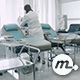 Blood Donation Room in Hospital - VideoHive Item for Sale