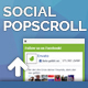 Popscroll: Social Popup Footer Box - jQuery Plugin - CodeCanyon Item for Sale