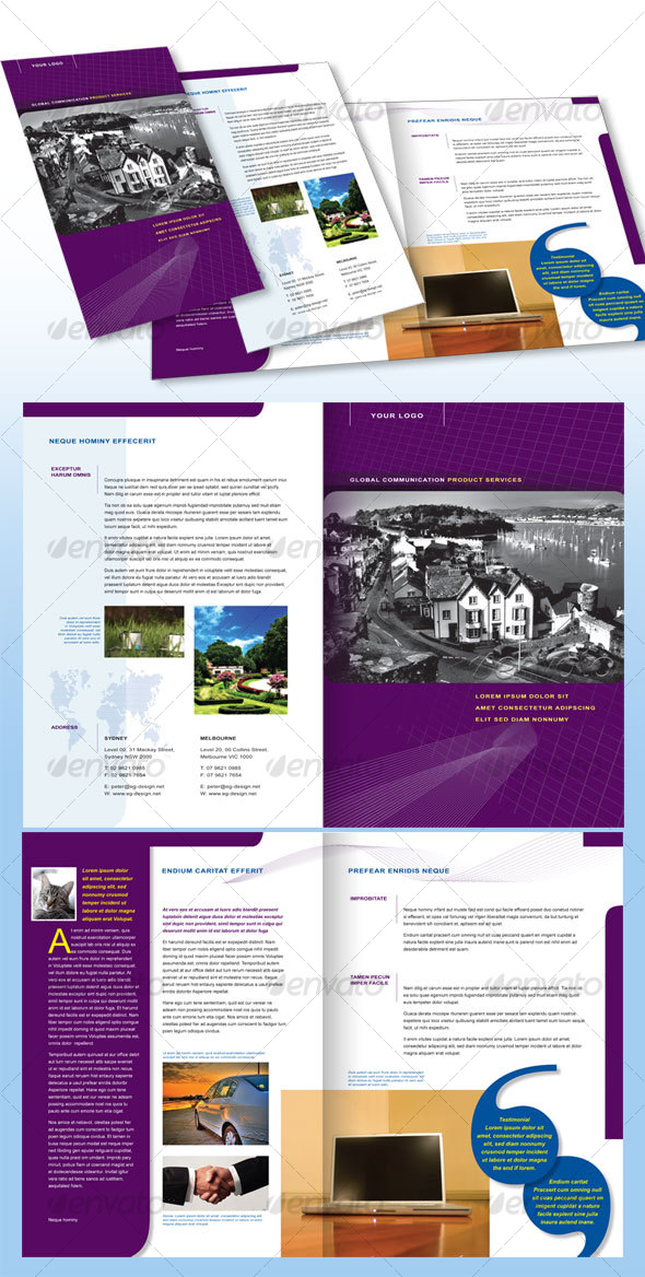 4 Page Corporate Brochure A4 - Corporate Brochures