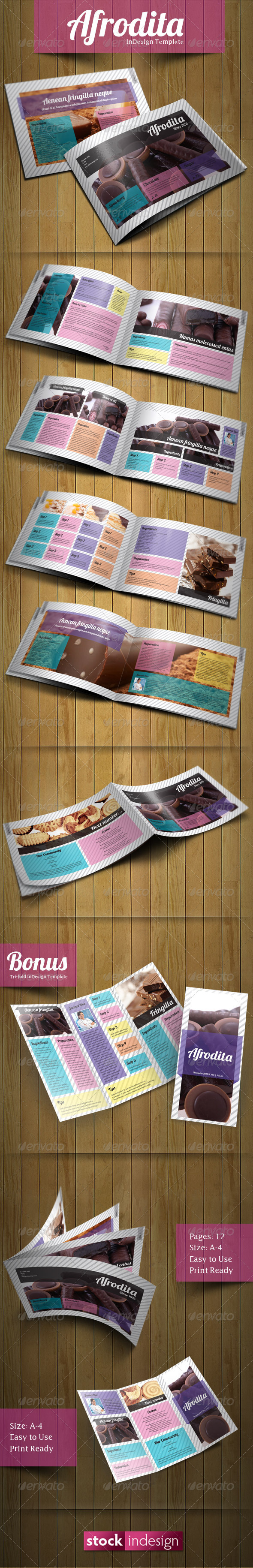 Afrodita Brochure: Modern & Clean - Corporate Brochures
