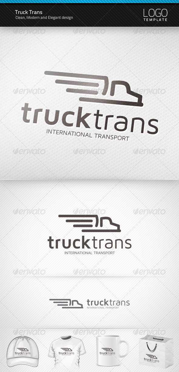 Truck Trans Logo - Objects Logo Templates