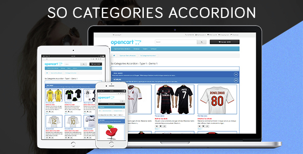 So Categories Accordion - Responsive OpenCart Module - CodeCanyon Item for Sale