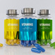 Bottle Capsules Vitamin Pills - 3DOcean Item for Sale
