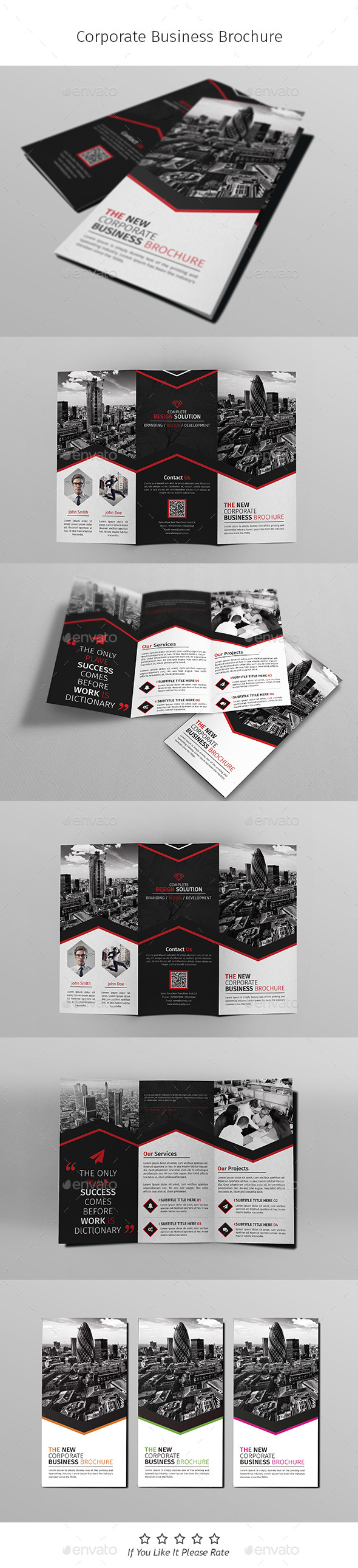 A4 Corporate Business Flyer Template Vol 07 - Corporate Brochures