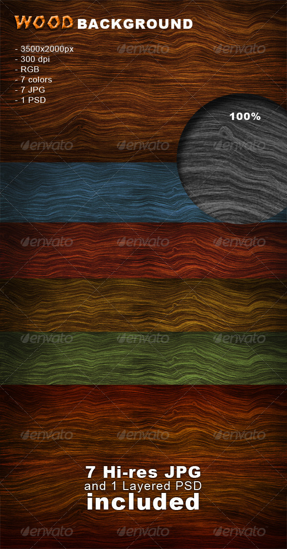 Wood Background - Nature Backgrounds