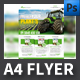 Agro A4 Flyer Template - GraphicRiver Item for Sale