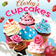 Cupcakes Menu-Graphicriver中文最全的素材分享平台