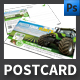 Agro Postcard Template - GraphicRiver Item for Sale