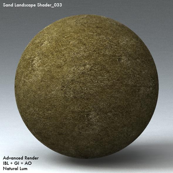 Sand Landscape Shader_033 - 3DOcean Item for Sale