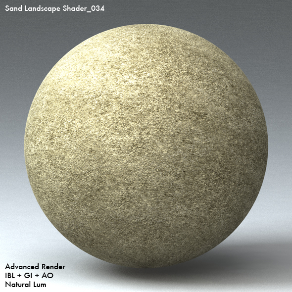 Sand Landscape Shader_034 - 3DOcean Item for Sale