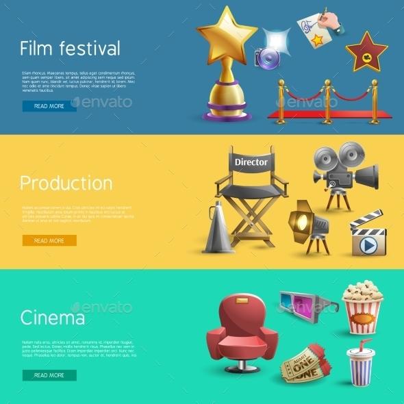 Cinema Banner Set - Industries Business