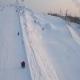 Aerial Shot Lift At Ski Resort - VideoHive Item for Sale