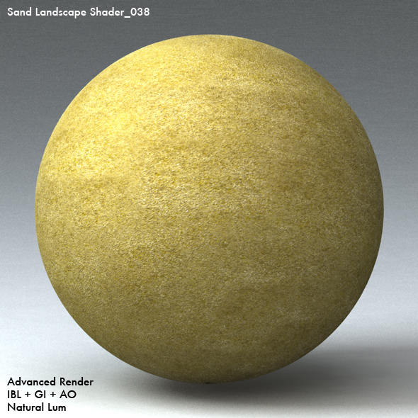 Sand Landscape Shader_038 - 3DOcean Item for Sale
