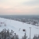 Flying Above Ski Resort - VideoHive Item for Sale