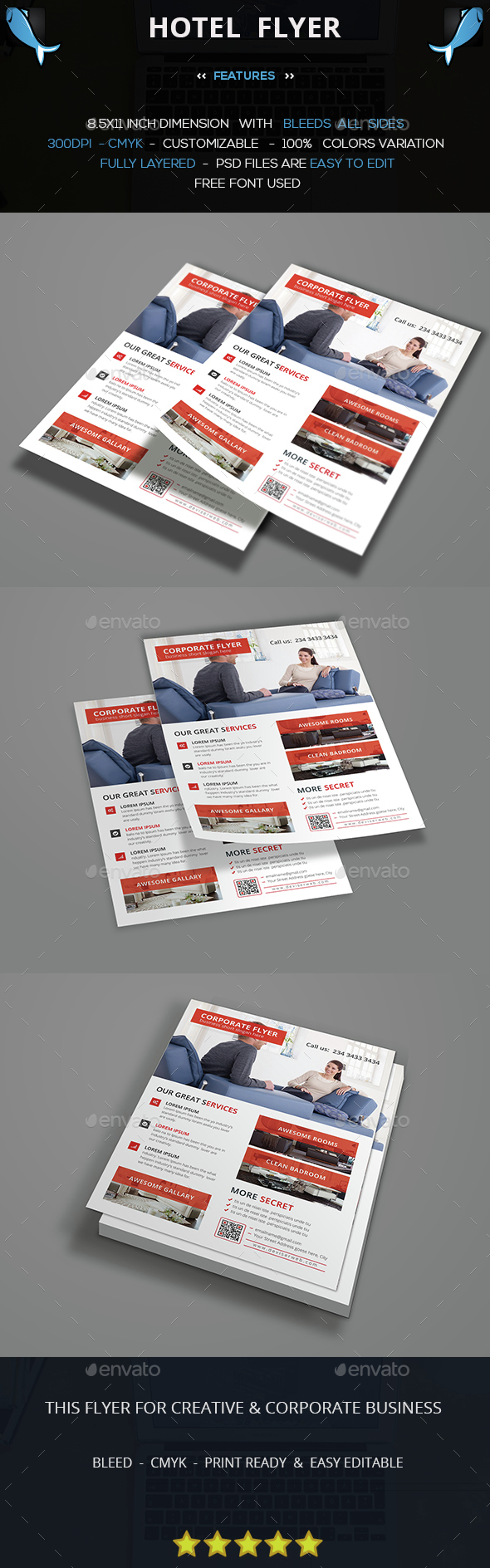Hotel Business Flyer - Corporate Flyers
