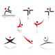 Set of sport people symbols - GraphicRiver Item for Sale