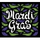 Mardi Gras Celebration Poster with Calligraphy - GraphicRiver Item for Sale