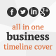 All in One Business Timeline Cover - GraphicRiver Item for Sale