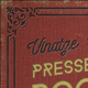 Vintage Pressed Book Styles+ Backgrounds & Borders - GraphicRiver Item for Sale