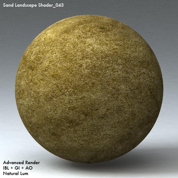 Sand Landscape Shader_043 - 3DOcean Item for Sale
